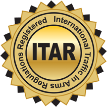 ITAR Registered Manufacturer - LOGO