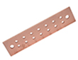 Copper Ground Bar Manufactured By Storm Power Components