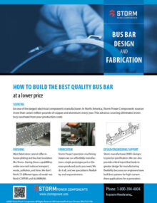 bus bar design and fabrication pdf image