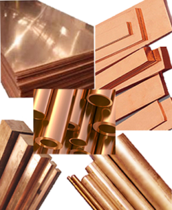 copper sheet, bar, rod, bus tube